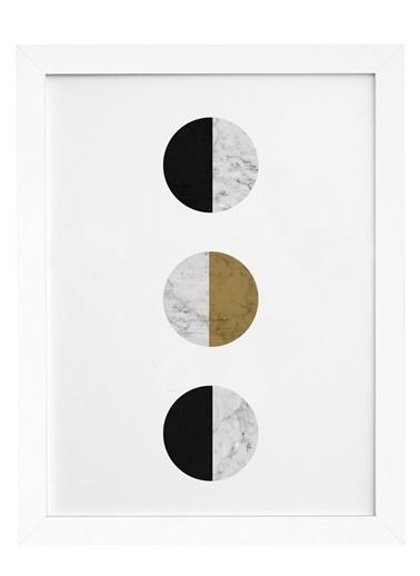 Nordbagen Balance Gold Poster Beyaz